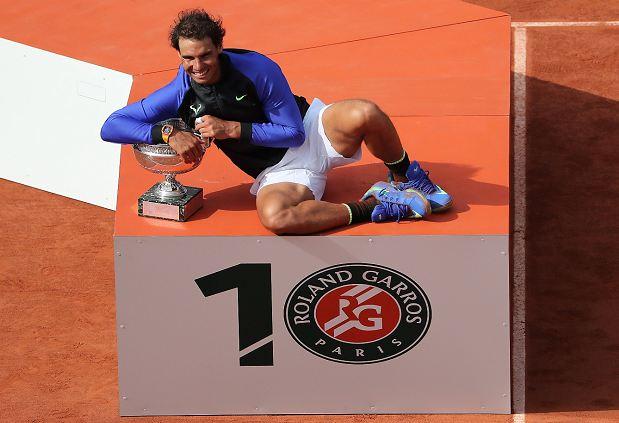 Roland Garros número 10 a la cuenta de Rafael Nadal