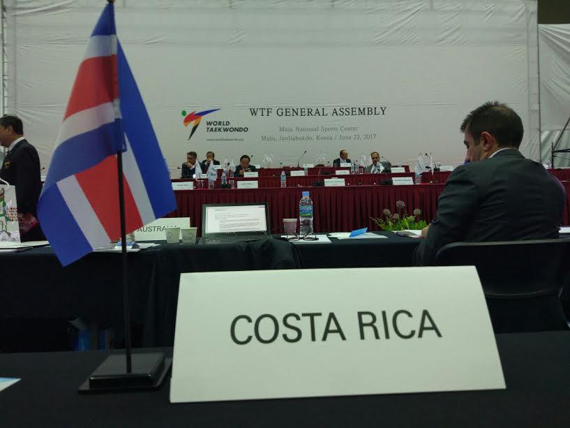 La PATU reconoció el esfuerzo de Costa Rica al asumir el Panamericano 2017