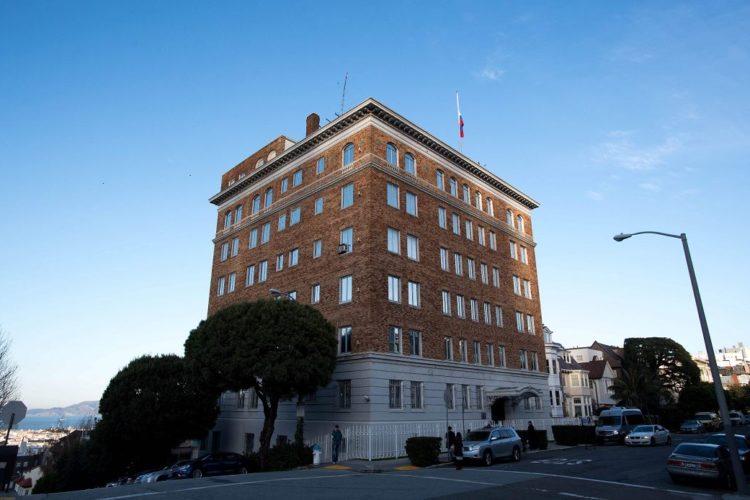 EE.UU. ordena el cierre del Consulado de Rusia en San Francisco