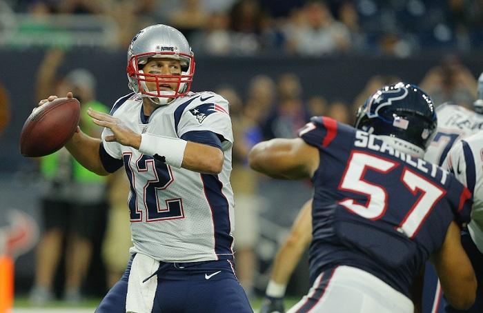 Patriots nuevamente salen como favoritos en la AFC