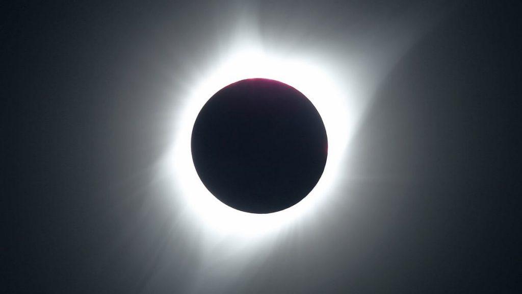 Las impactantes fotos que nos dejó el eclipse solar