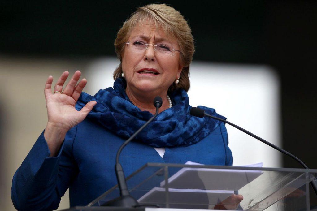 Bachelet apoya matrimonio igualitario ante Congreso de Chile