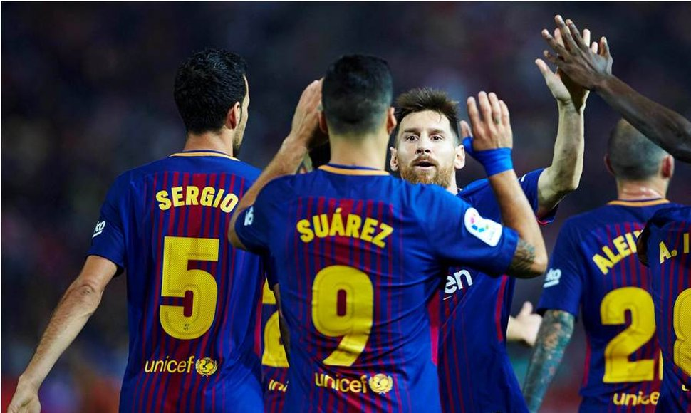 Barça a seguir por la senda del triunfo