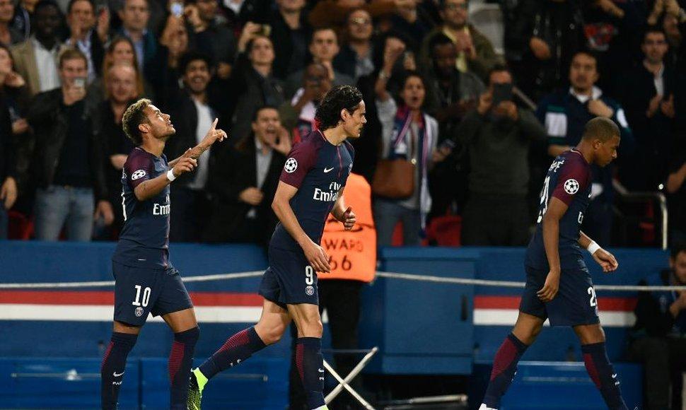 Mbappé Neymar y Cavani sacan el poder del PSG ante el Bayern