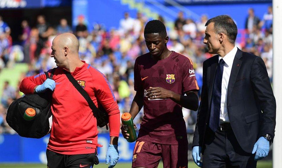 Dembelé será baja por cuatro meses en el Barça