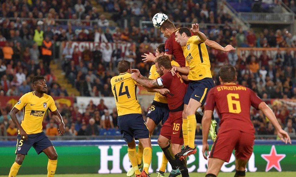 El Atlético de Madrid solo se lleva un punto de Roma