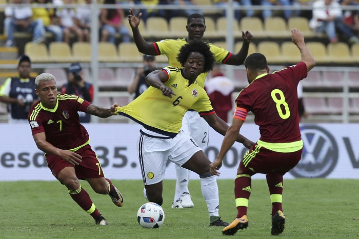 Venezuela se plantó fuerte ante Colombia