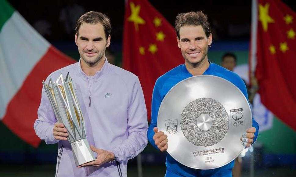 Roger Federer superó a Rafael Nadal