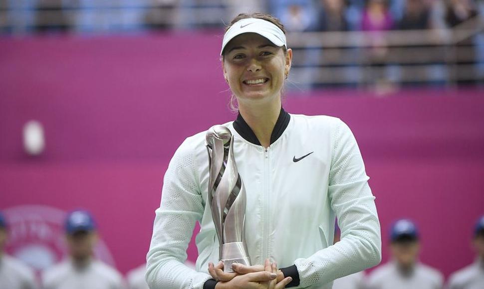 María Sharapova reyna en Tianjin