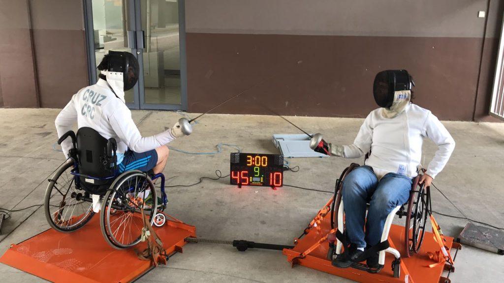 Esgrima tico da sus pasos en deporte  Para-olimpismo