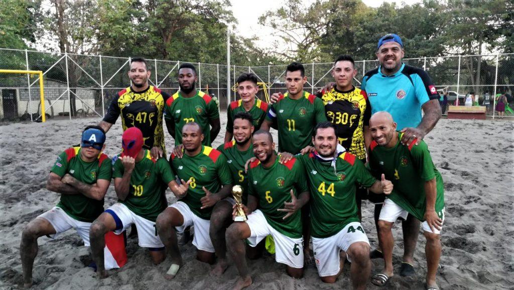 Representación Tica en futbol playa se deja torneo en El Salvador