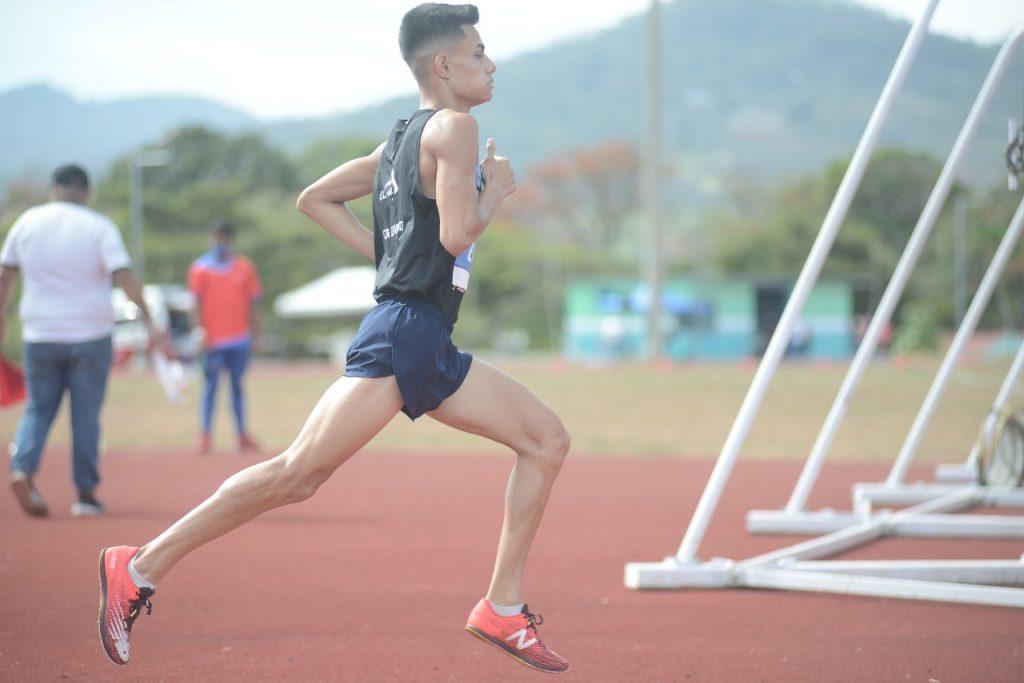 Brandon Barrantes atleta del Equipo La Casa Del Pie NB sigue cosechando triunfos