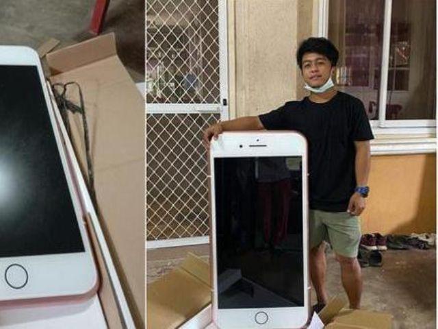 Compró celular por internet y no imaginaba lo que le iba a llegar