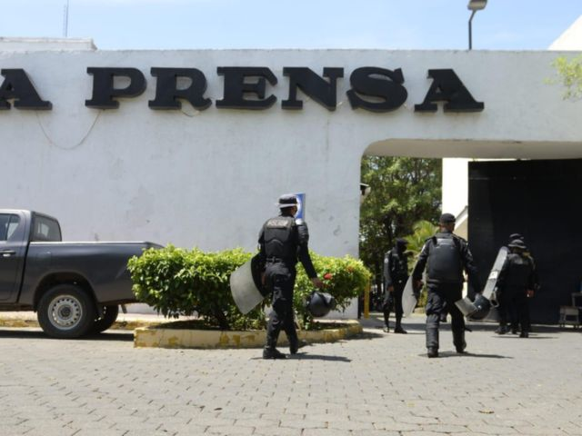 Periódico La Prensa de Nicaragüa es tomado por régimen Sandinista
