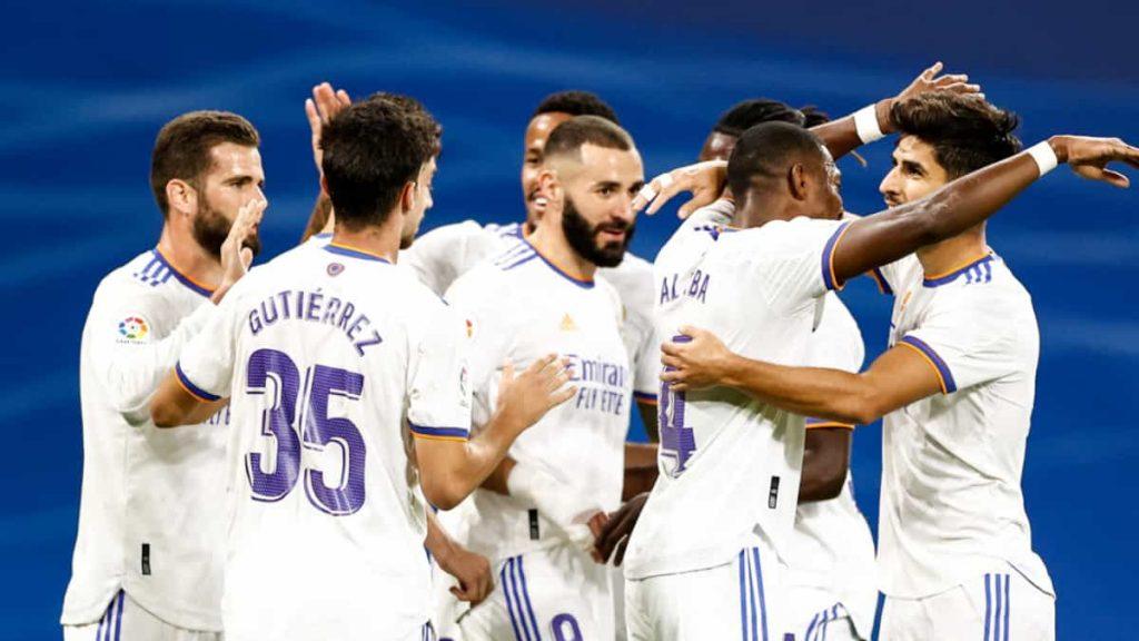 Con triplete de Ascencio Real Madrid Golea al Mallorca